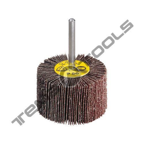 Круг шлифовальный лепестковый КЛО 80x15 P240 Klingspor с оправкой
