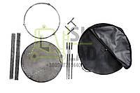 Сковородка из бороны 500мм + крышка + подставка с р.н + чехол