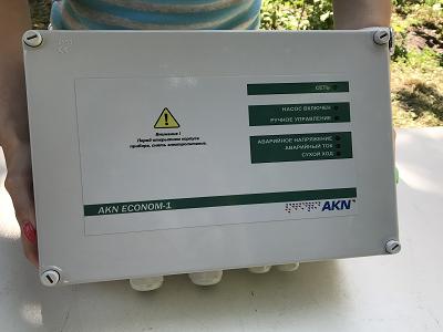 Настенный монтаж пульта для насоса ЭКОНОМ АКН-1-15.0