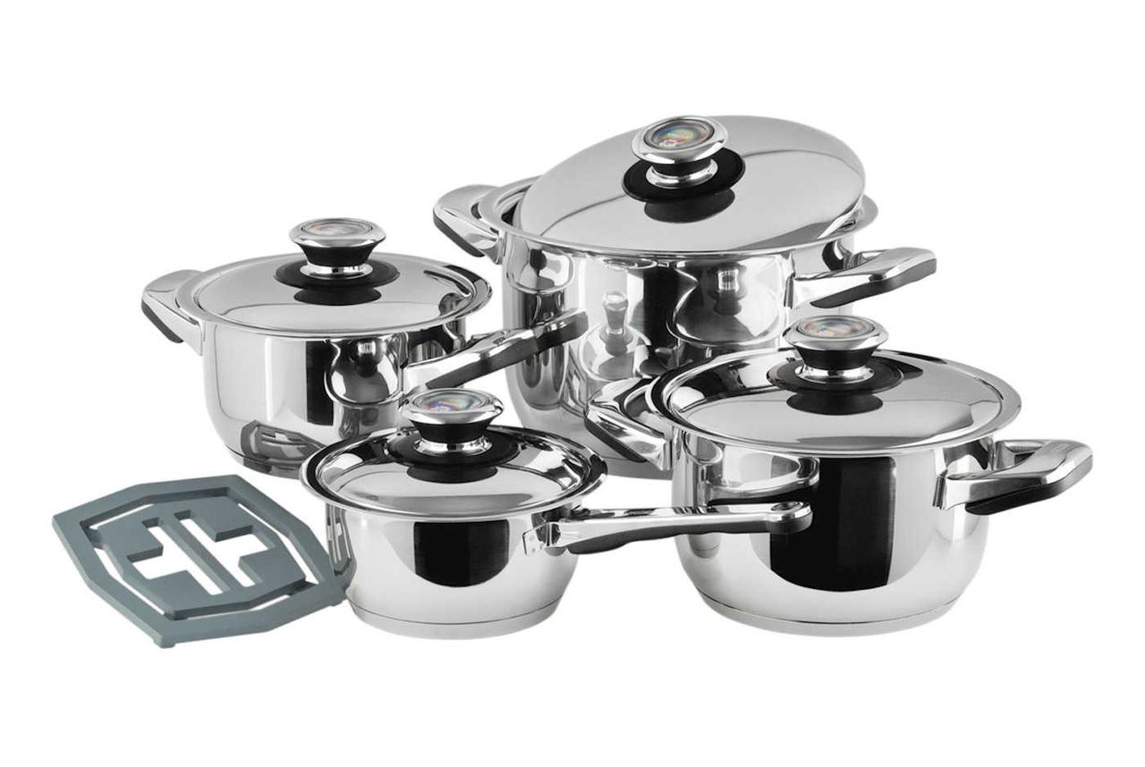 Набор посуды Vinzer Grand Junior 9 предметов