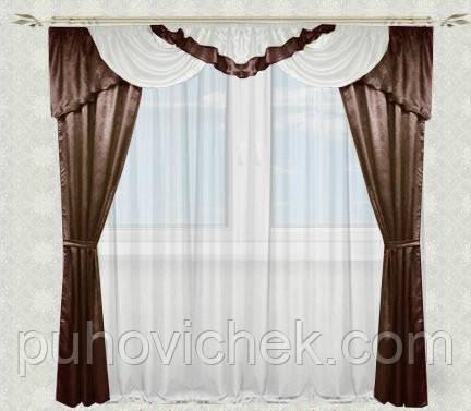 Дешевые шторы и ламбрекены