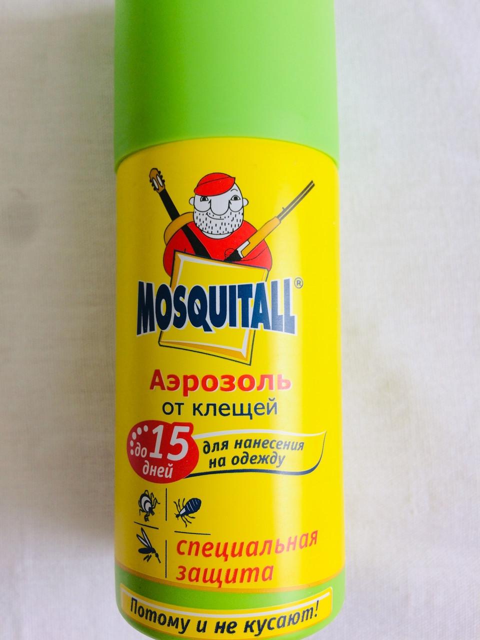 Аэрозоль от клещей  Mosquitall 15 дней