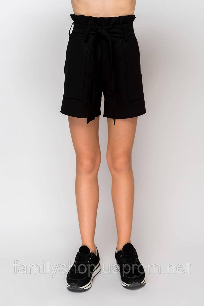 Школьные шорты на девочку подростка
