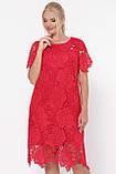 Ошатне плаття Елен червоне, фото 2