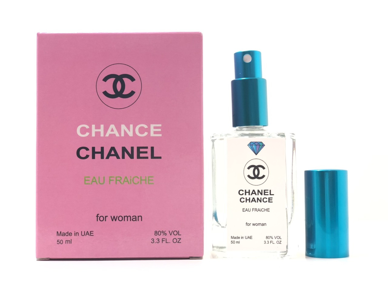 Парфюм Chanel Chance Eau Fraiche (Шанель Шанс Фреш) 50 мл Diamond - реплика