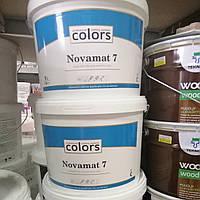 Полуматовая краска Colors Novomat 7, A, 9л, фото 1