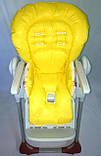Односторонній чохол на стілець для годування Peg Perego Prima Pappa, фото 3