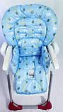 Односторонній чохол на стілець для годування Peg Perego Prima Pappa, фото 10