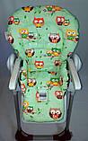 Односторонний чехол на стульчик для кормления Peg Perego Prima Pappa, фото 3