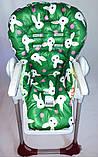 Односторонний чехол на стульчик для кормления Peg Perego Prima Pappa, фото 5