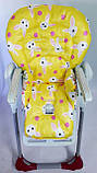 Односторонний чехол на стульчик для кормления Peg Perego Prima Pappa, фото 7