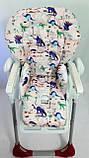 Односторонний чехол на стульчик для кормления Peg Perego Prima Pappa, фото 9