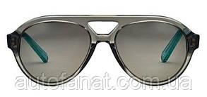 Оригинальные солнцезащитные очки MINI Sunglasses Aviator Colour Block, Grey/Aqua (80252445728)