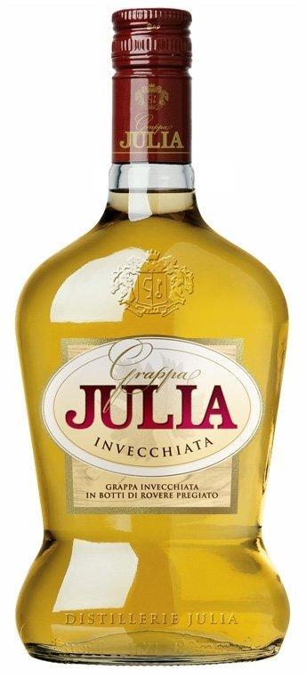 Grappa Julia Invecchiata (Граппа Джулия Инвечиата) 40%, 0,7 литра