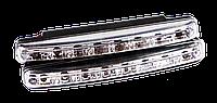 Огни Дневные Ходовые DRL 8 LED Диодов, фото 1