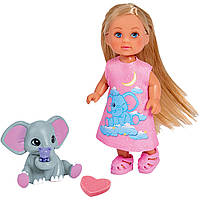 "Кукла Эви ""Волшебный слон"", Simba, 5733355"
