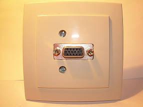VGA розетки, аудиорозетки в ассортименте, фото 3