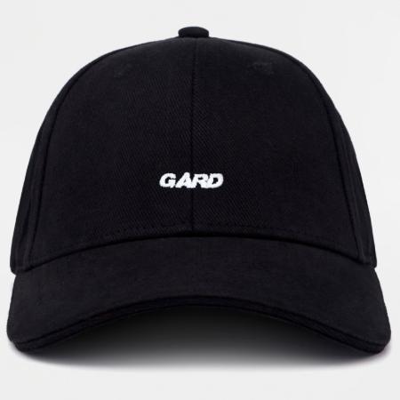 Кепка GARD чёрная BASEBALL CAP 1/19 Black