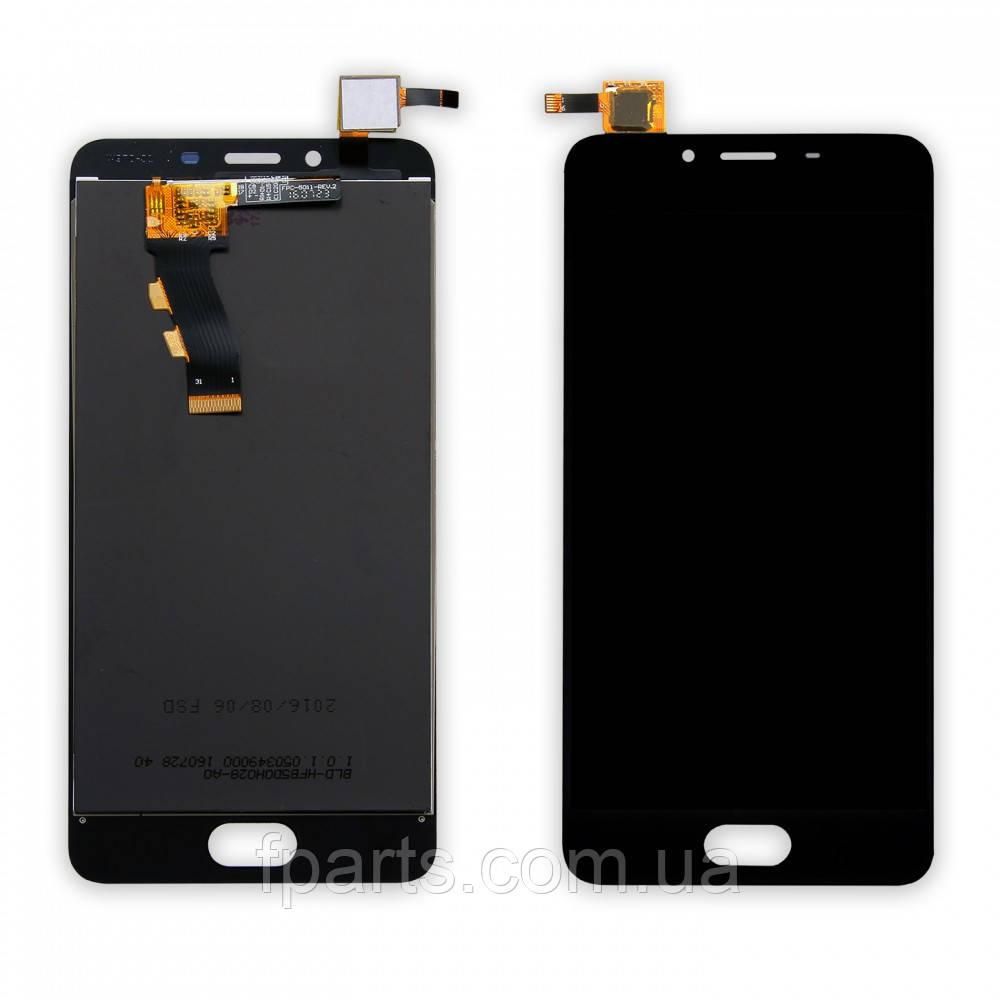 Дисплей для Meizu U10 (U680h) с тачскрином (Black)
