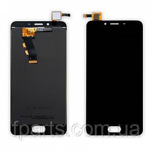 Дисплей для Meizu U10 (U680h) с тачскрином (Black), фото 2