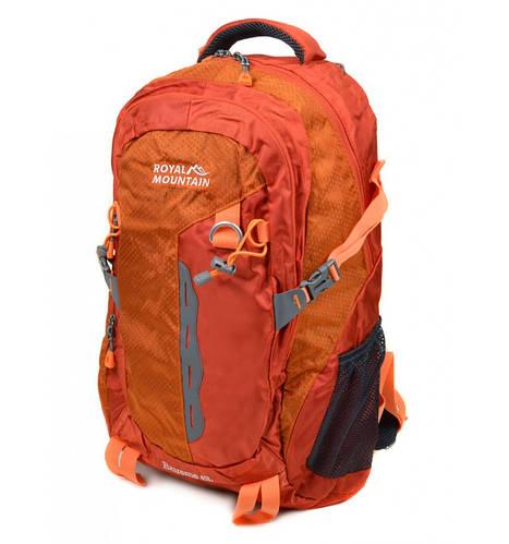 Отличный туристический рюкзак 45 л. Royal Mountain 8461 orange оранжевый