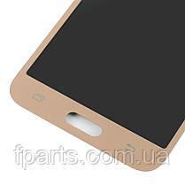 Дисплей для Samsung J500 Galaxy J5 с тачскрином, Gold (TFT), фото 2