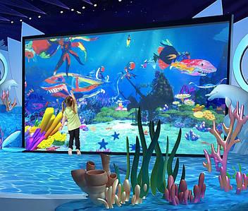 Интерактивный проекционный аквариум «Подводный мир»