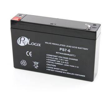 Аккумулятор ProLogix 6V / 7Ah, фото 2