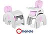 Детский стульчик Lionelo ELI розовый
