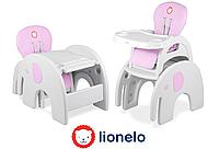 Детский стульчик Lionelo ELI розовый, фото 1
