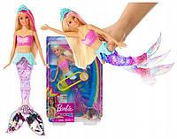 Кукла Barbie Dreamtopia Sparkle Lights Mermaid Барби Мерцающая русалочка подводное сияние GFL82