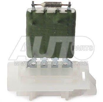 Резистор вентилятора отопителя Skoda OCT A5 2004-2013, SUPER B 2008-2015, YETI 2010-2019