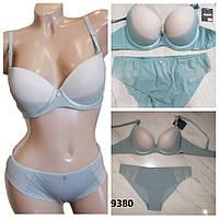 Комплект нижнего белья Balaloum 9380 голубой, фото 1