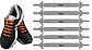Силиконовые шнурки одной длины для обуви. 12 штук в комплекте, фото 3