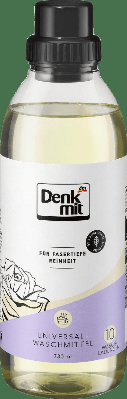 Гель для стирки на натуральной основе Denkmit Universalwaschmittel, 730 ml.