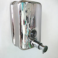 Дозатор для рідкого мила нержавіюча сталь 500 мл.