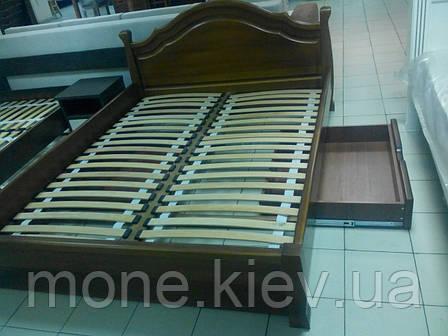 """Кровать """"Калина"""" из натурально дерева двуспальная, фото 2"""