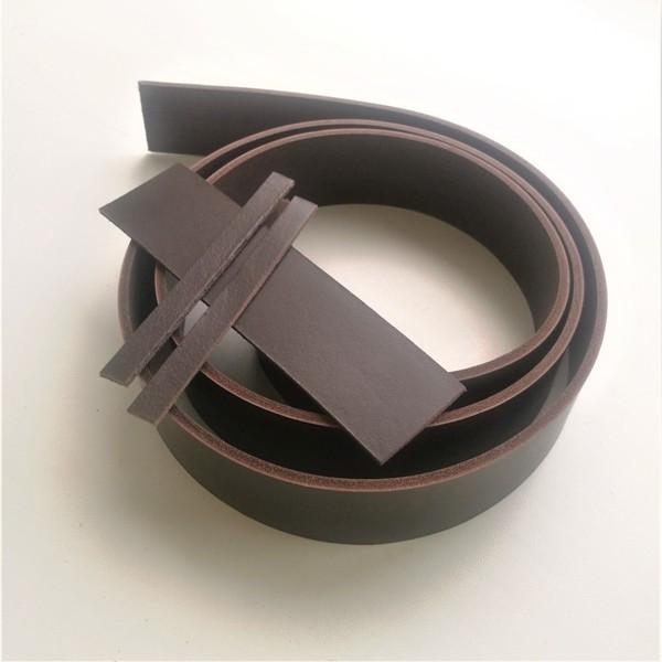 Полоса ременная коричневая (комплект)