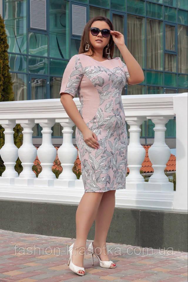 Модное женское летнее платье,ткань лён,размеры:52,54,56,58.