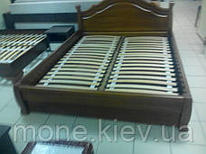 """Кровать """"Калина"""" из натурально дерева двуспальная, фото 3"""