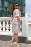 Модное женское летнее платье,ткань лён,размеры:52,54,56,58., фото 4