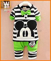 Дитячий костюм для хлопчика та дівчинки | Літній комплект Міккі Маус
