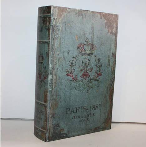 """Книга-сейф """"Paris"""" на ключике, фото 2"""