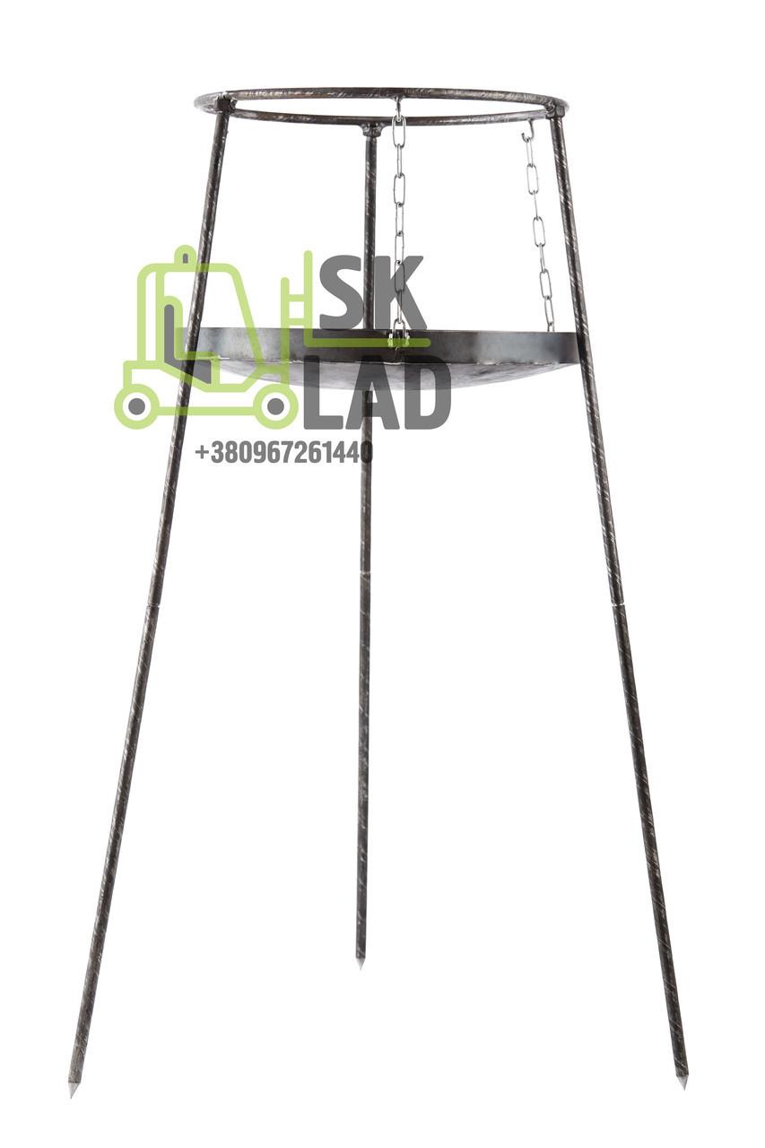 Подставка для сковороды универсальная воздушная с разборными ножками (для сковородок 500мм), 400х1000мм