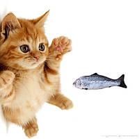 Мягкая игрушка рыба Форель 19см для кошек кота с кошачьей мятой