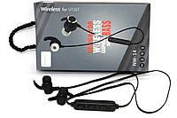 Беспроводные Bluetooth наушники гарнитура NW-14 Black