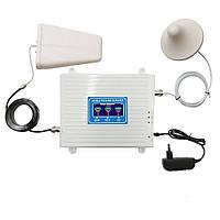 GSM DCS 3G 4G репитер, усилитель связи 900МГц 1800МГц 2100 МГц, Premium