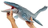 Мир юрского периода Динозавр Мозазавр  Jurassic World Real Feel Mosasaurus, фото 1
