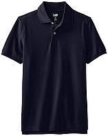 Поло Lee Men's Short-Sleeve Polo Shirt Navy