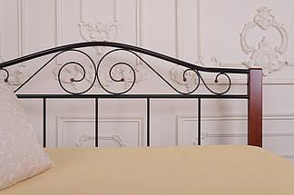Кровать Элис Люкс Вуд двуспальная ТМ Melbi, фото 2